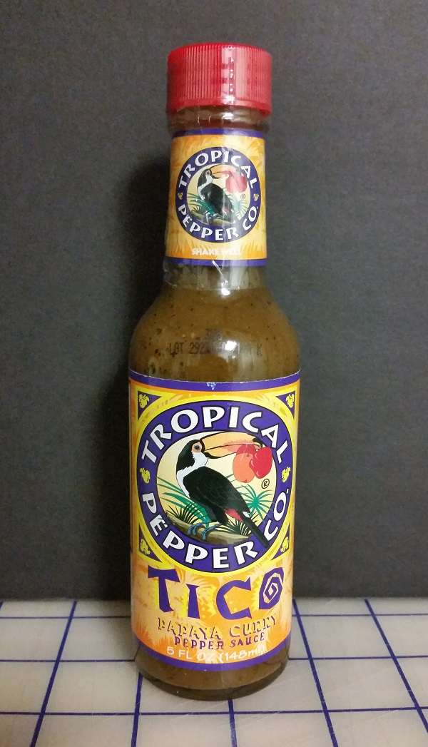 Tropical Pepper Co. Tico Papaya Curry Pepper Sauce Review