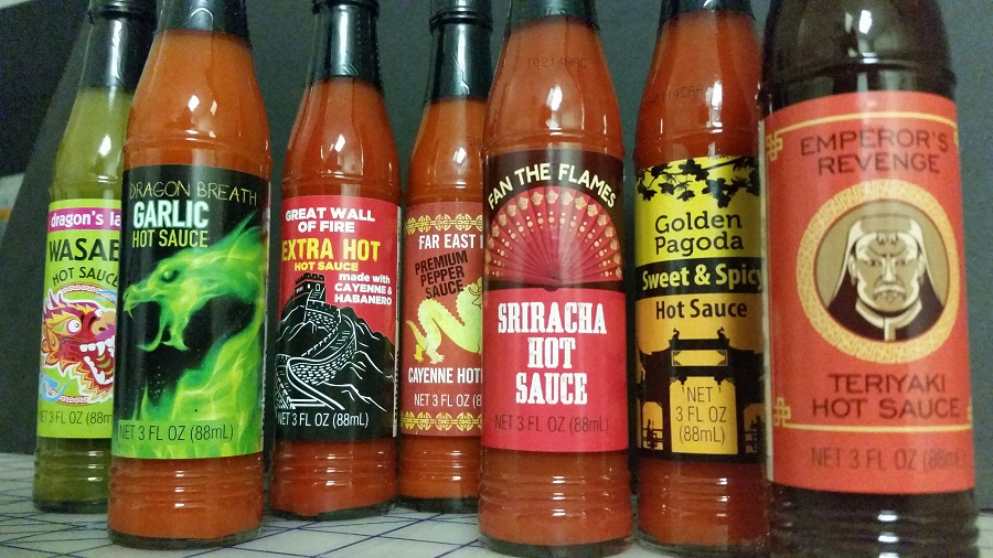 Dragon's Fury Hot Sauce Collection Sauces