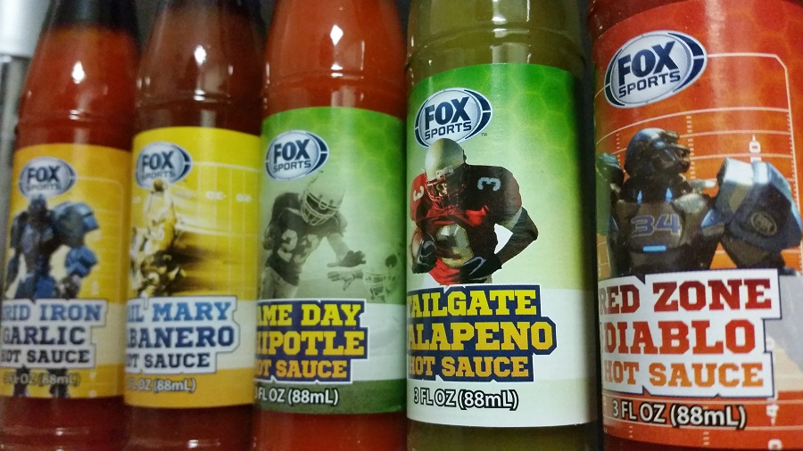 Hot Sauces #230 – 234 – Fox Sports NFL Hot Sauce Collection