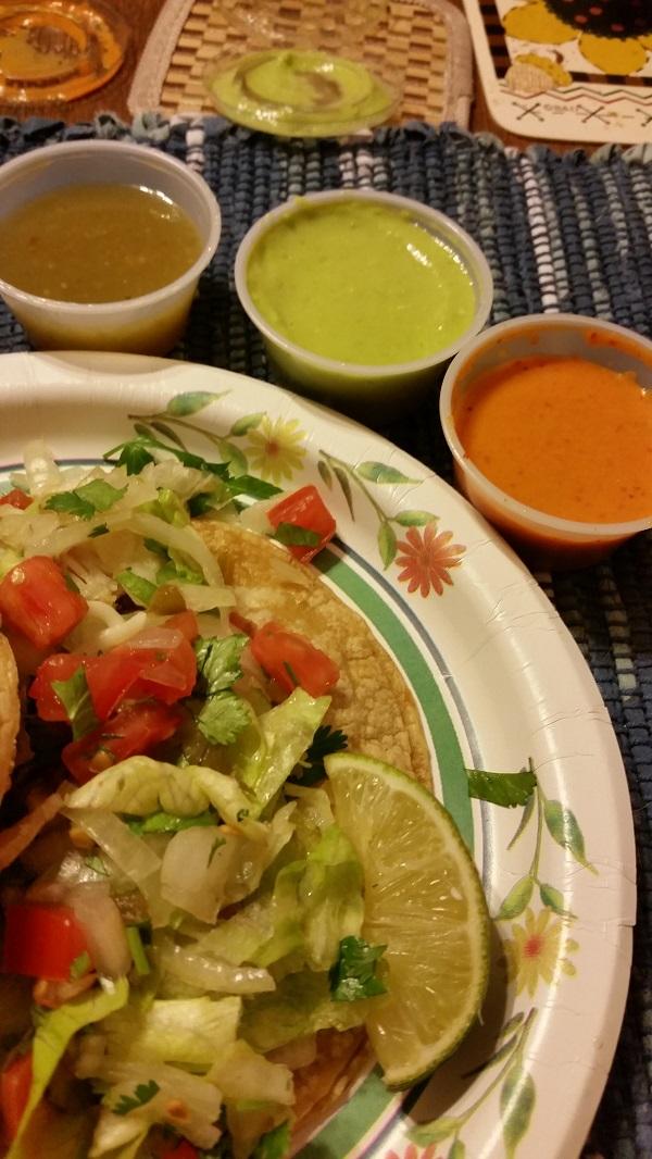 Tacos La Chaparrita Hot Sauces
