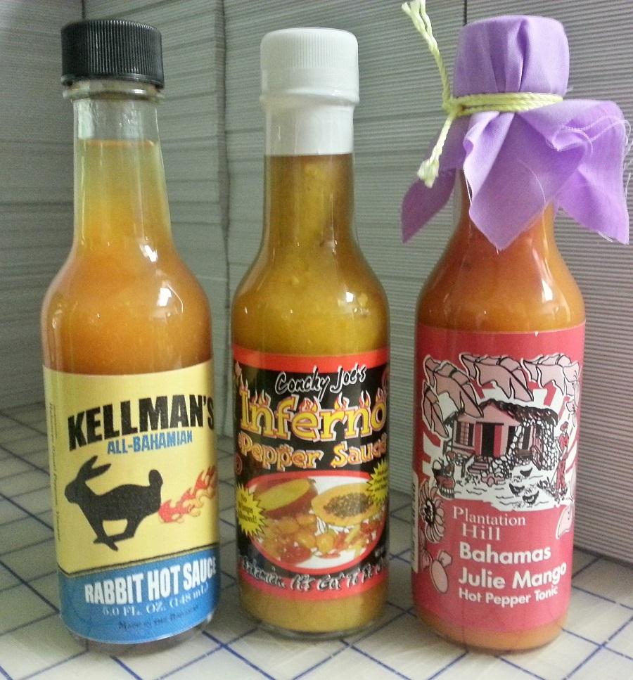 Bahamian Hot Sauces