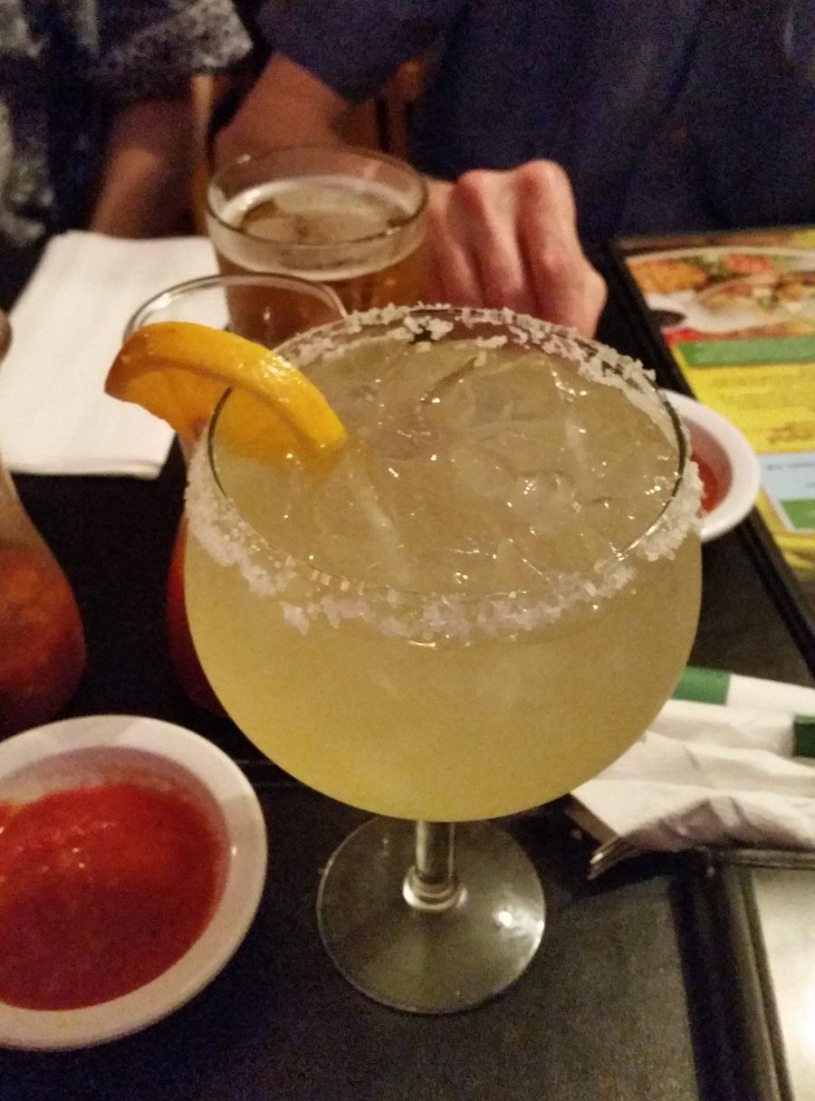 Cantina Margarita at Ramiro's Cantina, Louisville, KY
