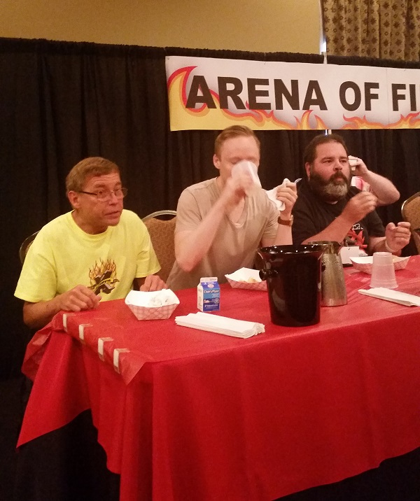 Chili Dog Eating Contest - Weekend of Fire 2016