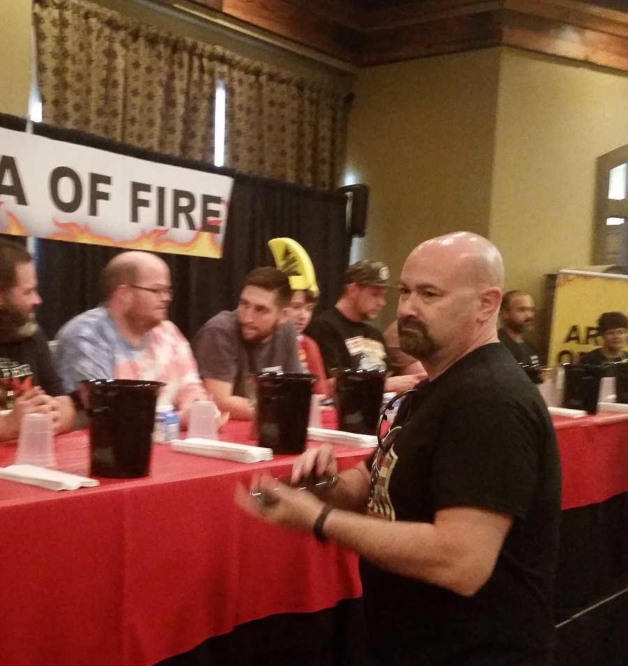 Chili Dog Eating Contest - Weekend of Fire 2016 - Scott Roberts 2