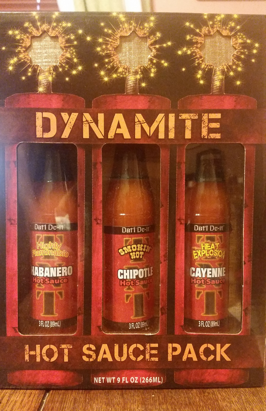 Dynamite Hot Sauce Pack