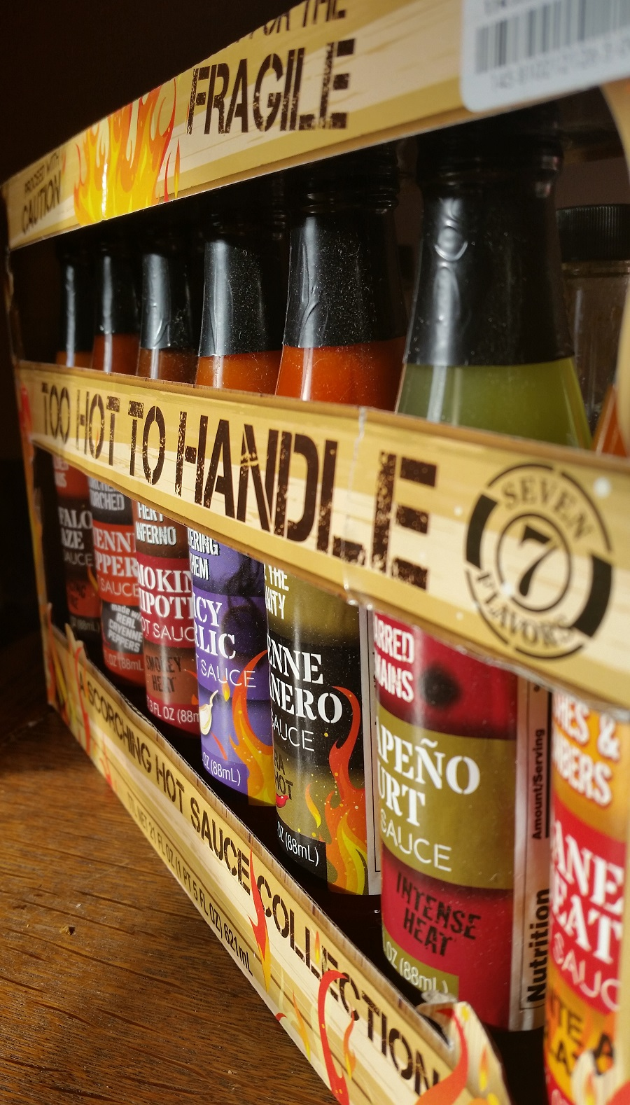 Too Hot To Handle Hot Sauce Collection
