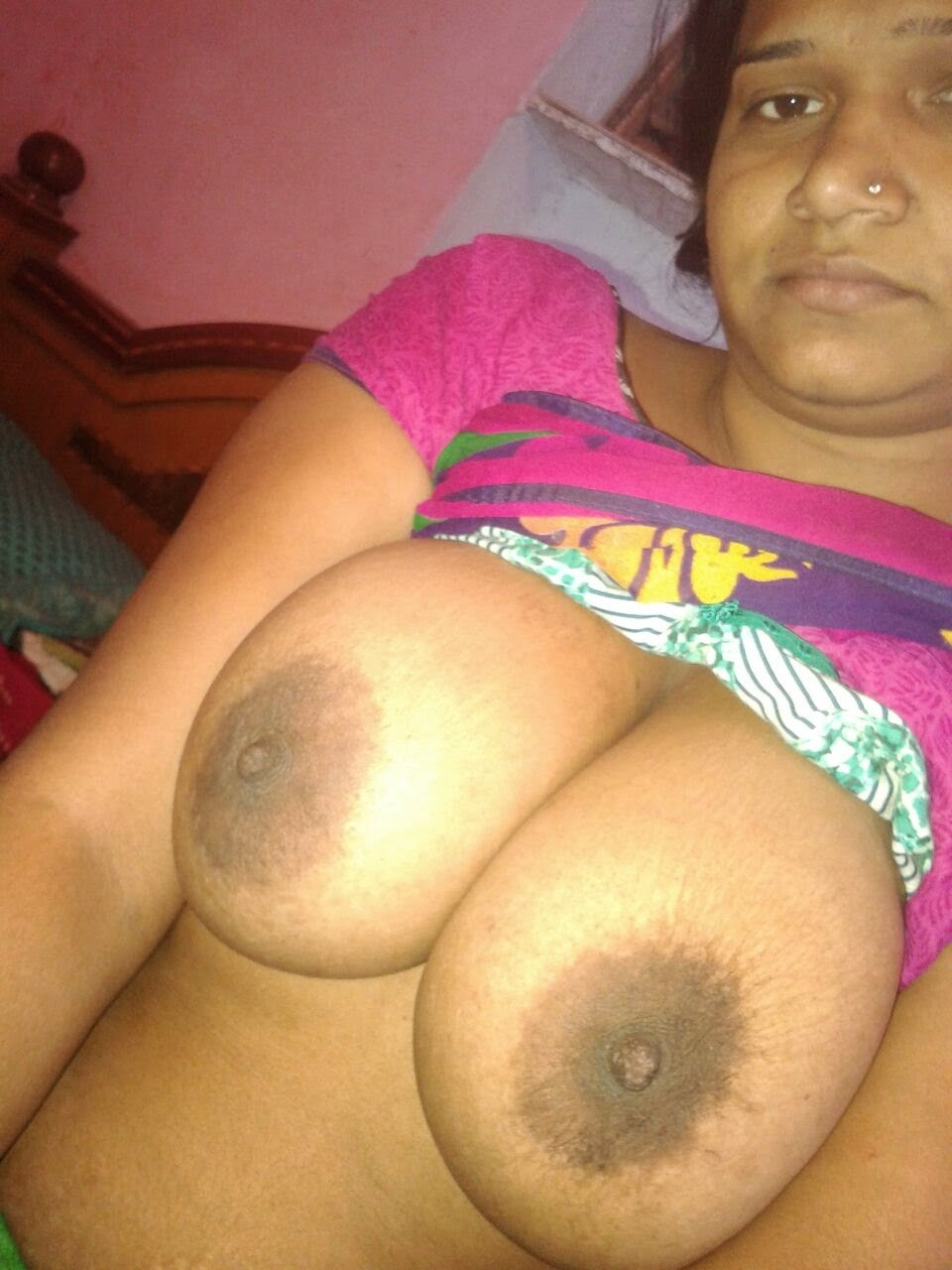 big boobs of aunty