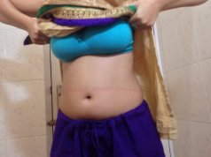 Girl remove suit salwar show naked body