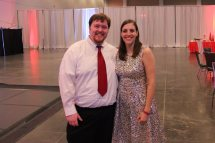 This was taken at Al's company Christmas party at the Virginia Beach Convention Center, December 2014.