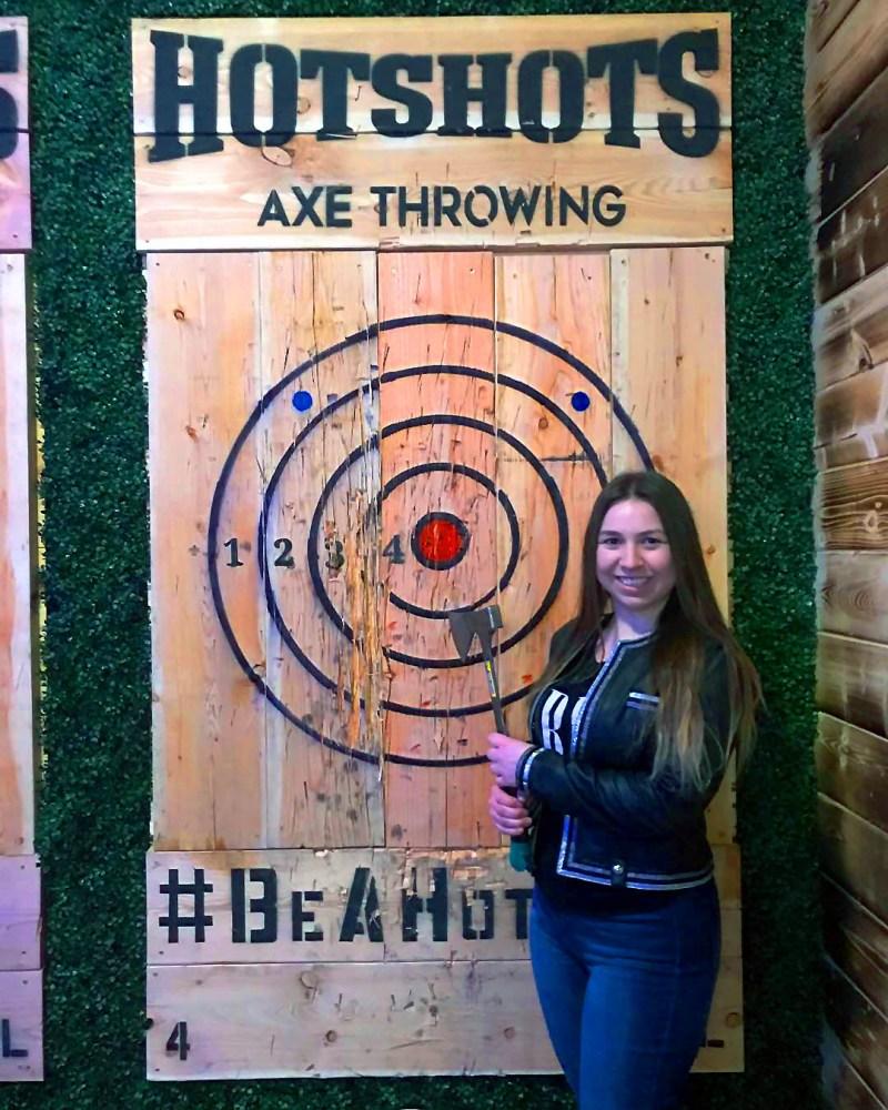 Hotshots Axe Throwing Photo