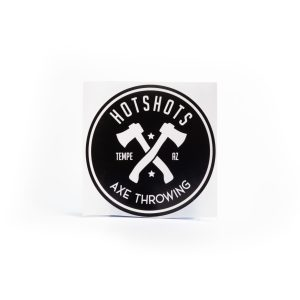 Hotshots Axe Throwing Sticker