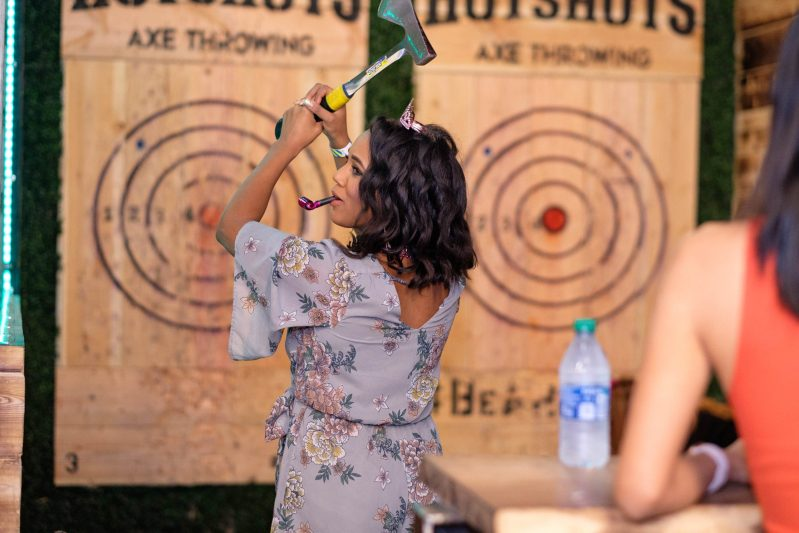 Axe Throwing Birthday Party