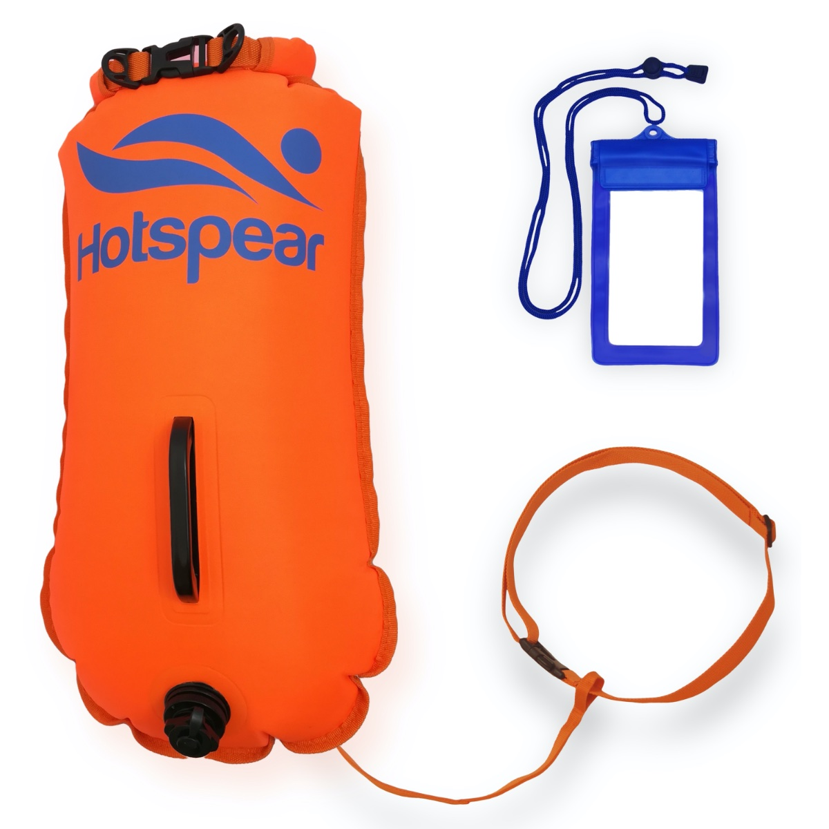 swim buoy Dry Bag Open water wild swim tri 6 available Speed Hound Tow float