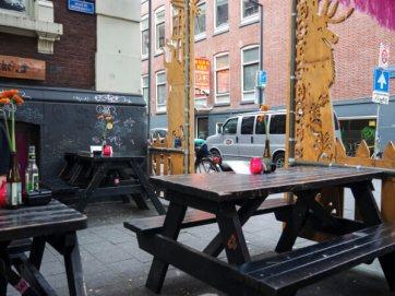 Hotspot Worm Rotterdam op de Witte de Withstraat