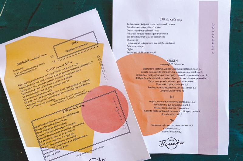 BAR BOUCHE AMSTERDAM: HIER GAAT DE BRUCH GERUISLOOS OVER IN DE BORREL