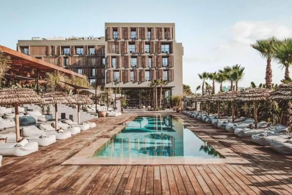 OKU IBIZA: WAANZINNING MOOI VIJFSTERREN HOTEL OP IBIZA