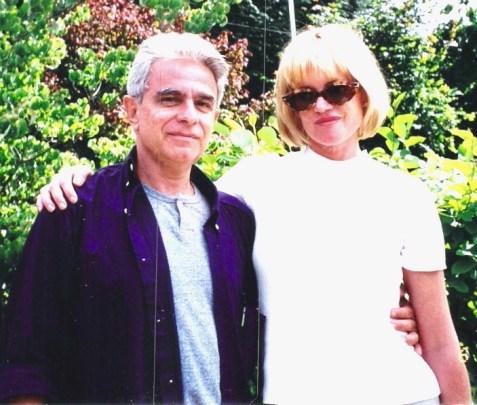 Phydias Barbosa e a atriz Melanie Griffith em Vancouver, Canada (1)