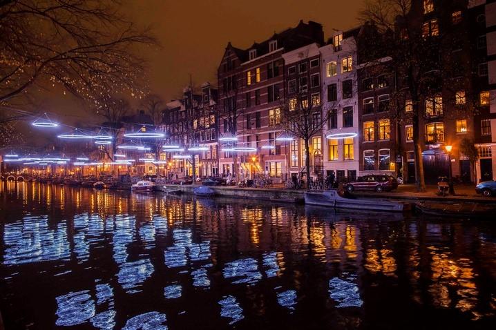 Dec 1 – Jan 22 Amsterdam Light Festival