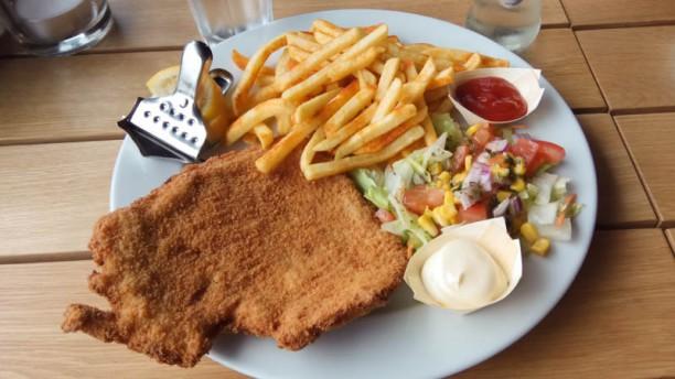Best schnitzel in town: Wush