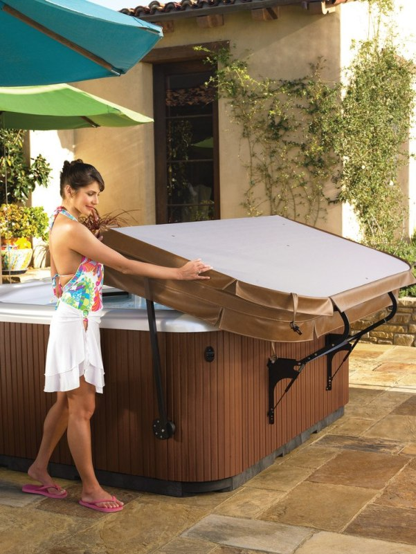 Follow a few tips to keep your hot tub cover in good shape.