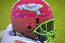 Close-up of Helmet
