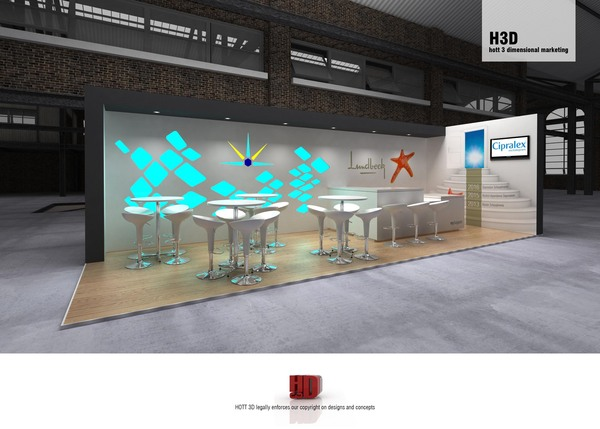 Lundbeck - exhibition stand design south africa