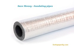 Insulating Water Pipes - Save Money