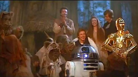 Celebrate the Love in Return of the Jedi