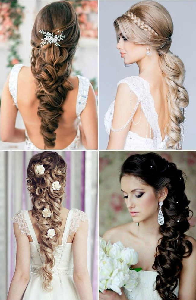 easy hairstyles for long hair for wedding