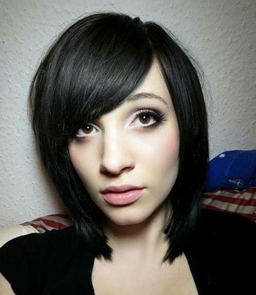 black-bob-with-side-parted-bangs