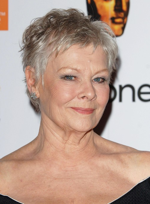 dame-judi-short-haircut-for-women-over-50