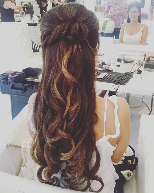 half-up-long-wedding-hairstyle