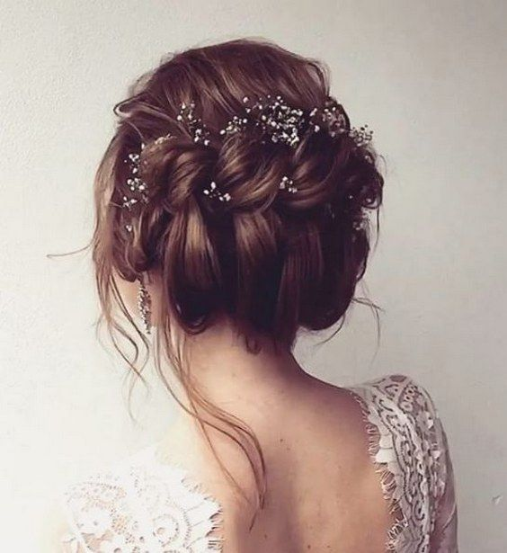 messy-twisted-updo-wedding-hairstyle
