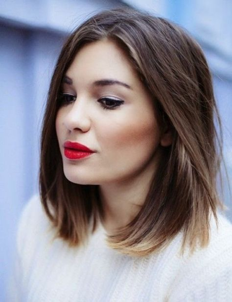 shoulder-length-hairstyles-with-highlights