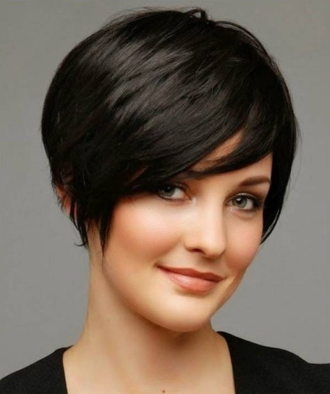 short-black-haircuts-for-thick-hair