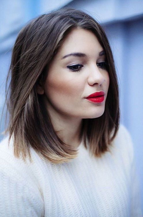straight-and-short-ombre-hair