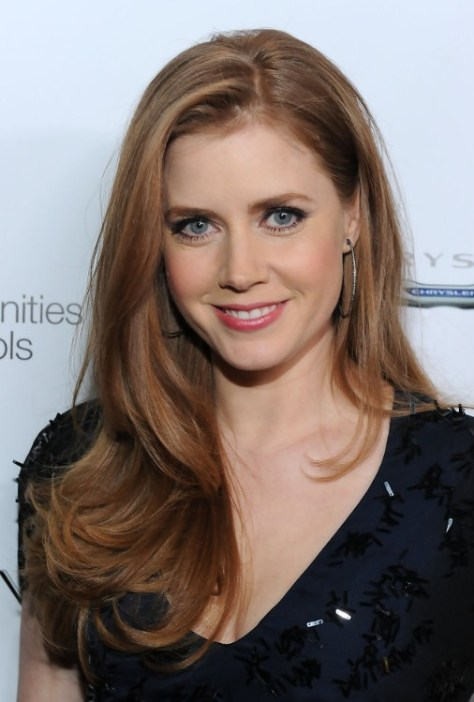 Amy Adams Casual Long Hairstyle