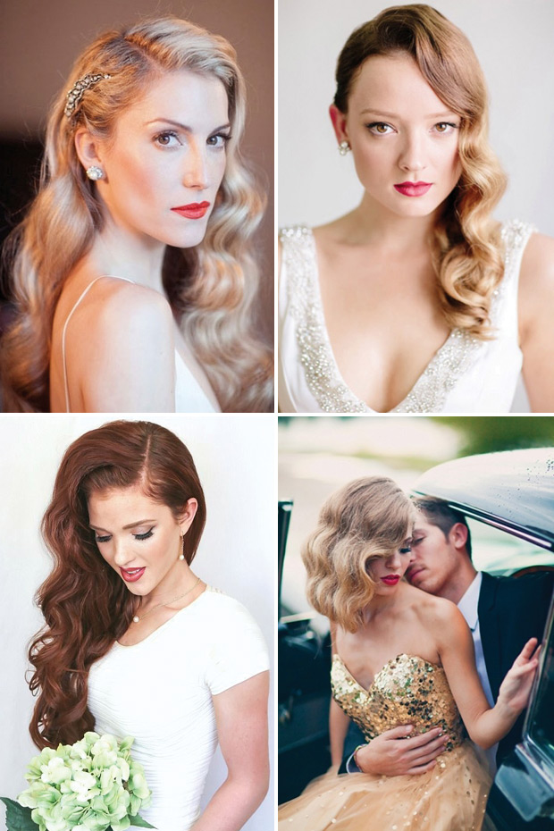 Wedding Hairstyles with Waves