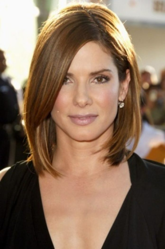 Layered Shoulder Length Hairstyle