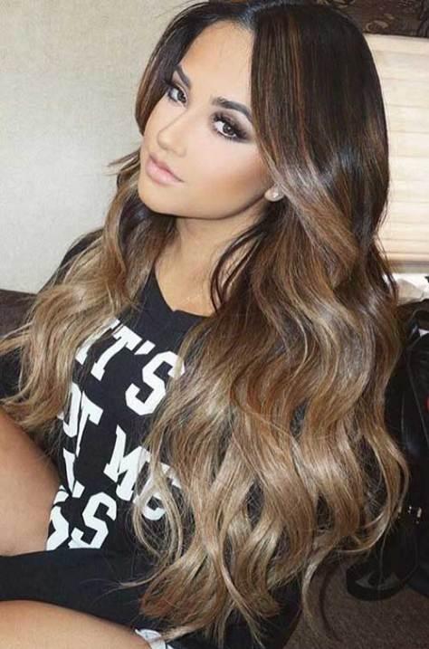 Long Hair with Sleek Layers