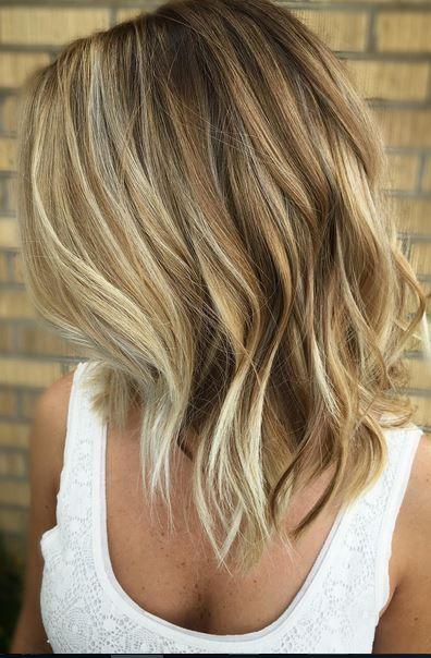 Medium Bronde Hair