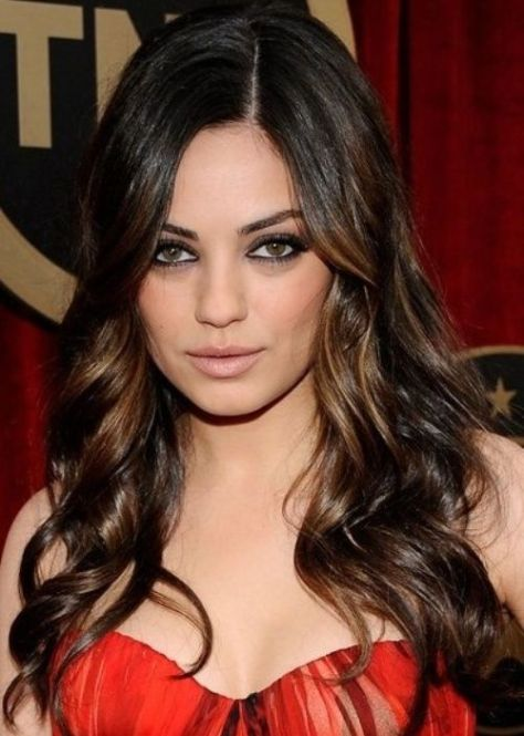 Ombre Highlights for Dark Hair