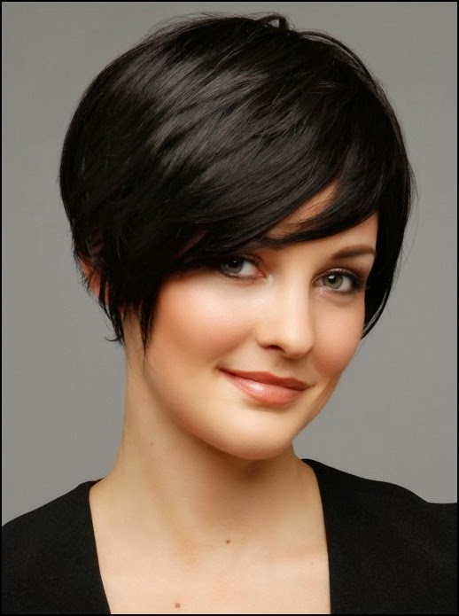 Raven Layered Black Bob