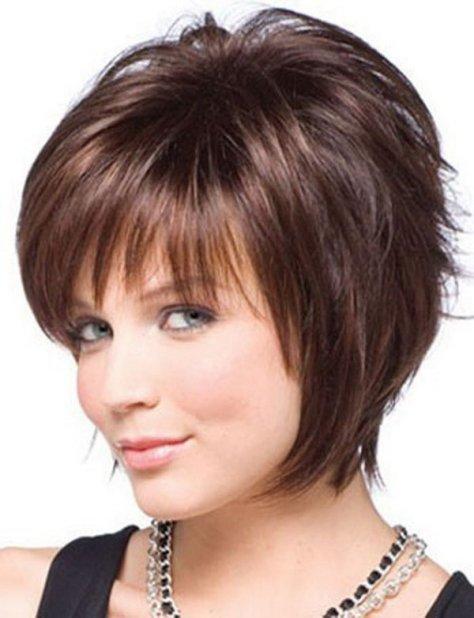 Short Thin Hair with Bangs