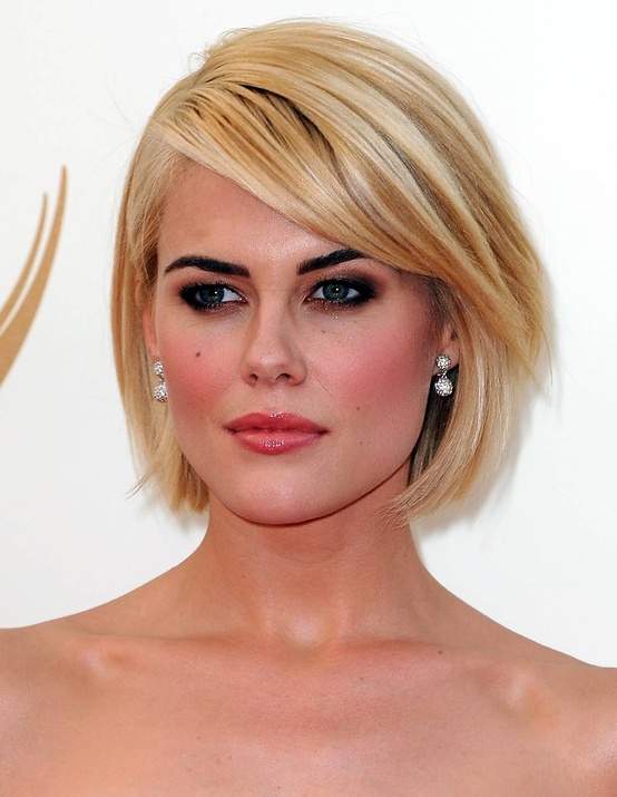 Soft Bob with Side Bangs