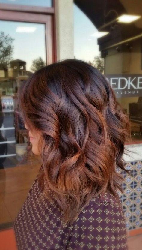 Medium Brown Hair with Waves