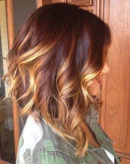 Medium Ombre Hair
