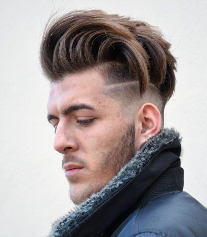 Undercut with Long Edgy Hair