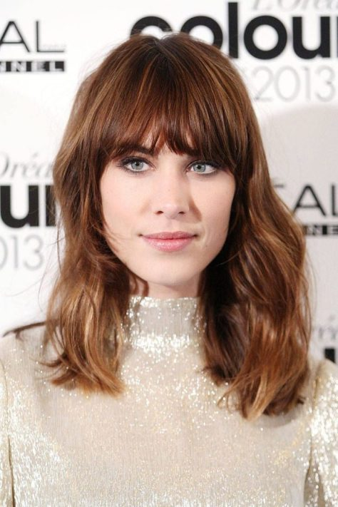 Ombre Layered Hair with Bangs