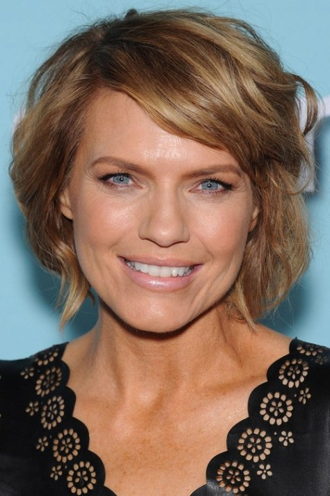 Short Curls with Side Bangs